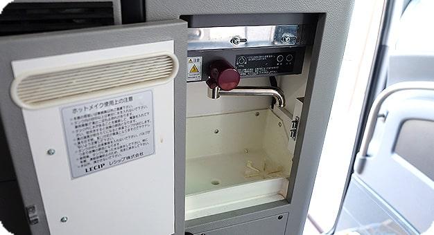 ガーラリフト付き観光バス54人乗り湯沸かし器